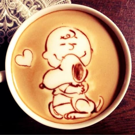 Nothing like Charlie Brown and Snoopy to get theday started.