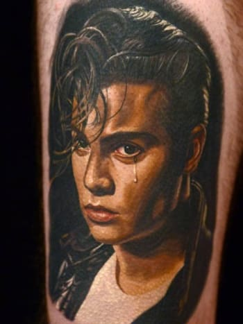 Nikko Hurtado perfectly captures Cry-Baby in this piece.