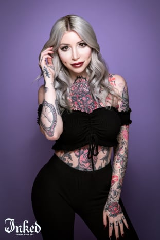 Photo @shootmepeterMeet Morgan Joyce, a tattoo model and YouTuber from New Jersey.
