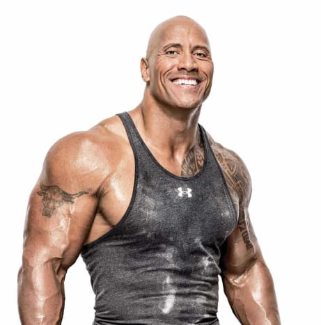Photo via @therockDwayne 'The Rock' Johnson is one of the most recognizable tattooed celebrities in Hollywood.