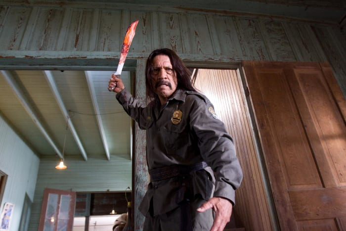 When it comes to machetes, images of actor Danny Trejo might come to mind.
