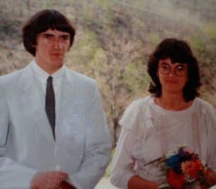 "Photo via youtube Fulvia married Marisa, 32 years ago and although he kept his ""trans secret"" from her he did begin to frequent gay bars and cross-dress privately in her garage."