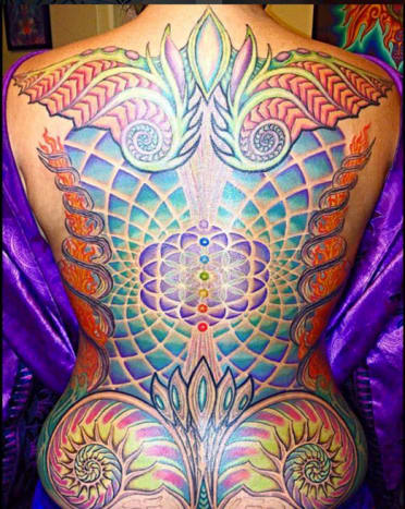 427f227ed Crone is just as skilled at using color to make his intricate designs.