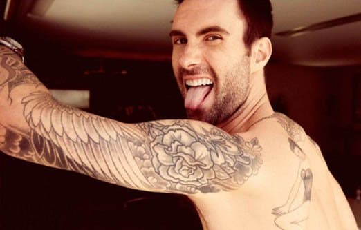 Adam Levine's 9/11 Tribute TattooWe're still not sure about the gigantic mermaid tattoo Adam Levine got inked on his back recently, but if you ask us, the dove and cherry blossoms tattoo the singer had done as a tribute to the innocent lives lost on 9/11 makes up for it ten-fold.