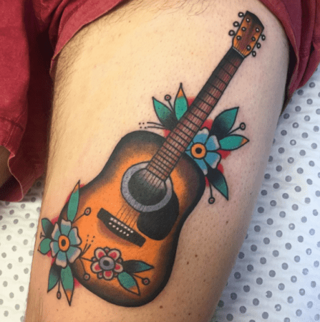 Tattoo by Scott Shannon