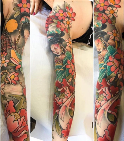 A Beautiful Sleeve Done By Billy Hay