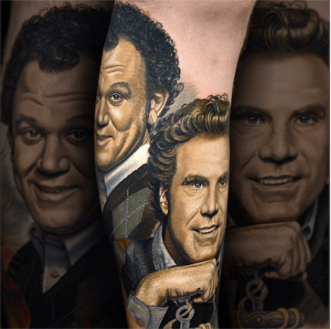 This is one classy portrait of John C. Reilly and Will Ferrell from Step Brothers.