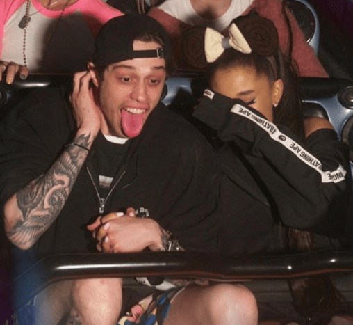 Although they've only been together for a few weeks, Ariana Grande and Pete Davidson are totally in love.