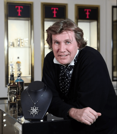 Meet Theo Fennell, a high end jewelry designer based in Chelsea.