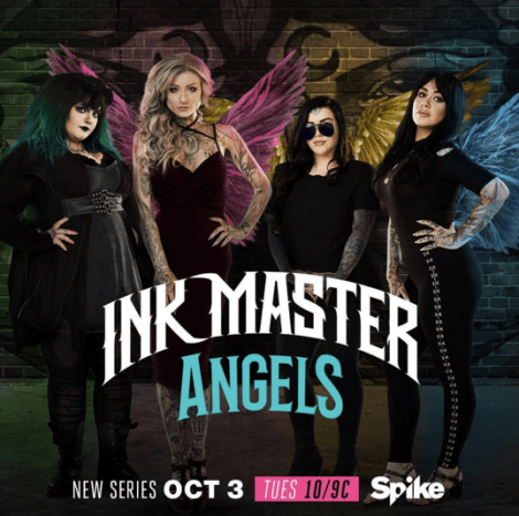 During the season 9 finale of Ink Master, America learned that Ink Master: Angels will have a large role in casting season 10. In the spin-off, artists from around the country will face off to win a spot in season 10—only if they can beat one of the four angels.