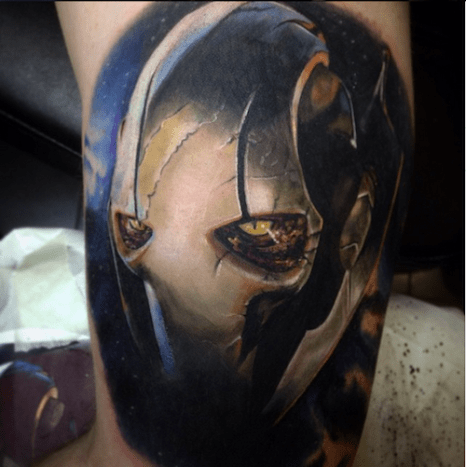 The Force was definitely with this tattoo.