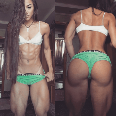 Photo: Bakhar Nabieva/Instagram.Bakhar Nabieva, who is of Azerbaijani origin, has acquired a fleet of followers who see her as a muse and are astounded by her rock-hard derrière.