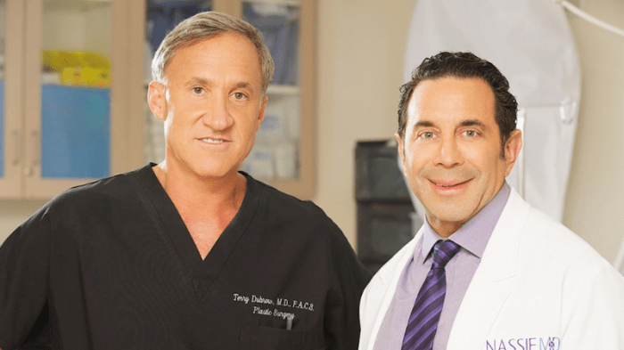 Drs. Dubrow and Nassif are board-certified plastic surgeons who correct extreme failed procedures on E! Network's Botched.