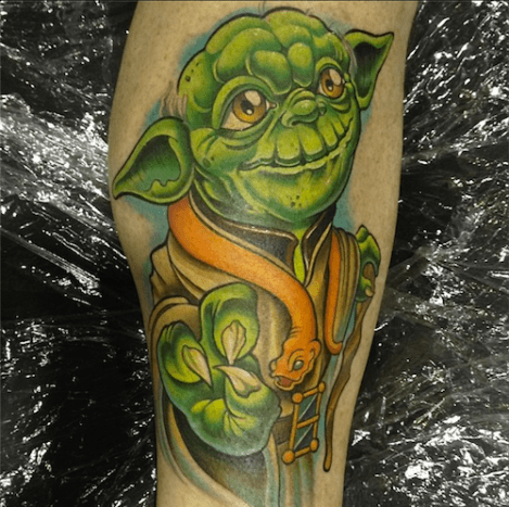 The force was definitely used in making this epic Yoda.