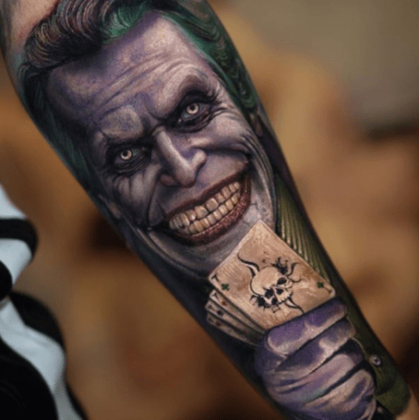 27 Seriously Insane Joker Tattoos - Tattoo Ideas, Artists and Models
