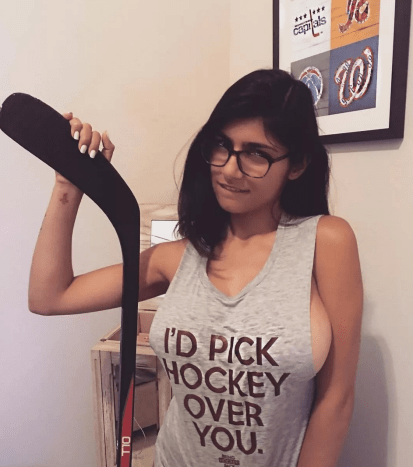 Mia Khalifa is an ex-porn star whose short lived time in the industry has left a huge impact.