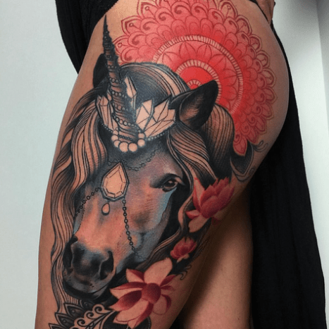 Tattoo by Miryam Lumpini