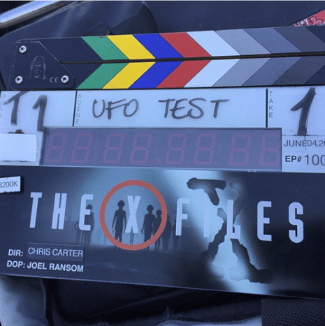 """The X-Files"" creator Chris Carter joined Instagram just to share this with you."