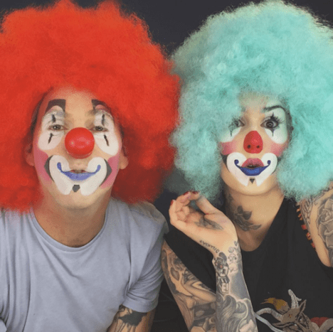 Clearly Steve-O and Kat Von D share a love for all things funny!