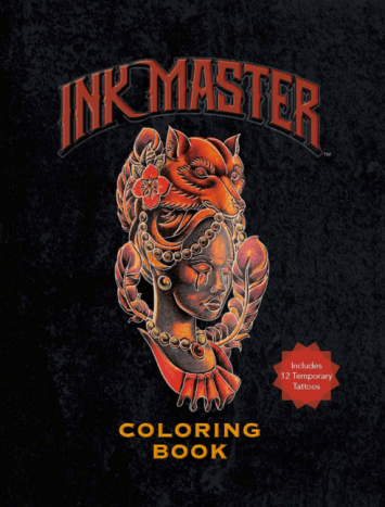 On June 27th, Ink Master is releasing their first ever coloring book through Amazon.