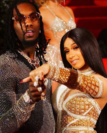 "Cardi B slayed in 2017—earning MAJOR recognition for her breakout single ""Bodak Yellow"" and getting engaged to Offset from Migos."
