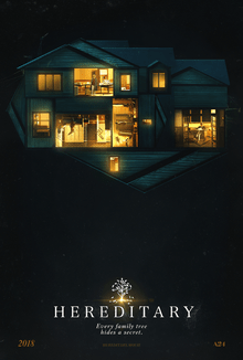 On January 21, 2018 the film Hereditary premiered at the Sundance Film Festival. It is directed by Ari Aster, his first feature film.