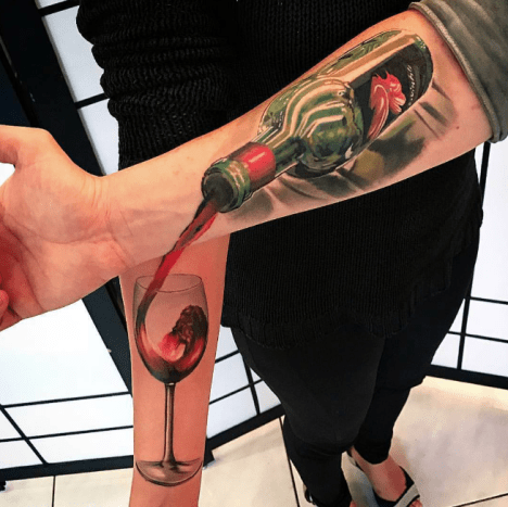 These tattoos are classic and timeless.