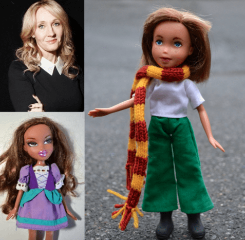 J.K. Rowling, author of Harry Potter series.