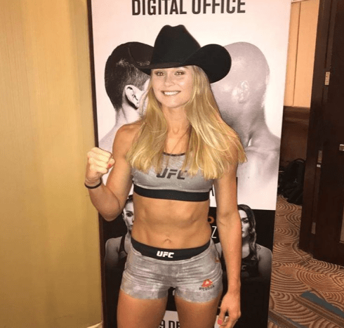Andrea Lee is a 29-year-old UFC fighter from Atlanta, Texas.