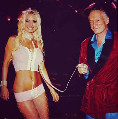 """Photo via instagramIzabella St. James, Hugh Hefner's ex came forward with a list of less than sanitary conditions that prevailed at the mansion in her book Bunny Tales: Behind Closed Doors at the Playboy Mansion: """"Hef did not care about our carpets: the one in his bedroom had not been changed for years. It was literally the color of diarrhea. It became significantly worse when Holly moved in with her first dog and then got another. The dogs were not housebroken and relieved themselves on the carpet. Many a late night or early morning we stepped in her dog's pee, or worse, poop."""""""