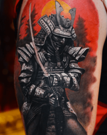 Tattoo by Marcin Sonski