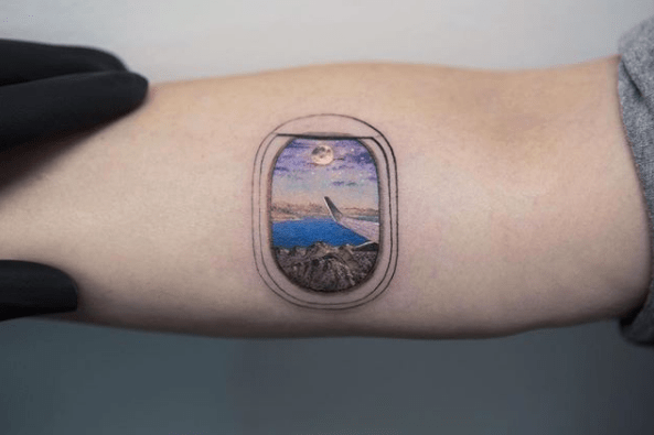 Tattoo by @evakrbdkCross that big trip off your bucket list in 2018. You deserve to relax on a beach, explore a European city, or take that booze cruise.