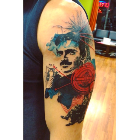 Tattoo by Ryan Lebiedzinski.