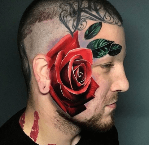 This rose is gorgeous and totally badass.