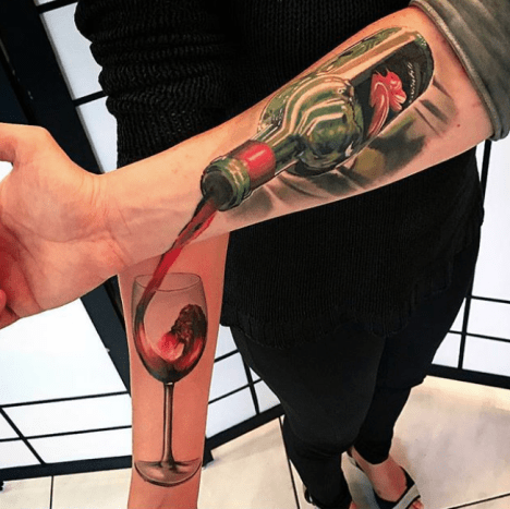 Who says tattoos can't be a team effort?