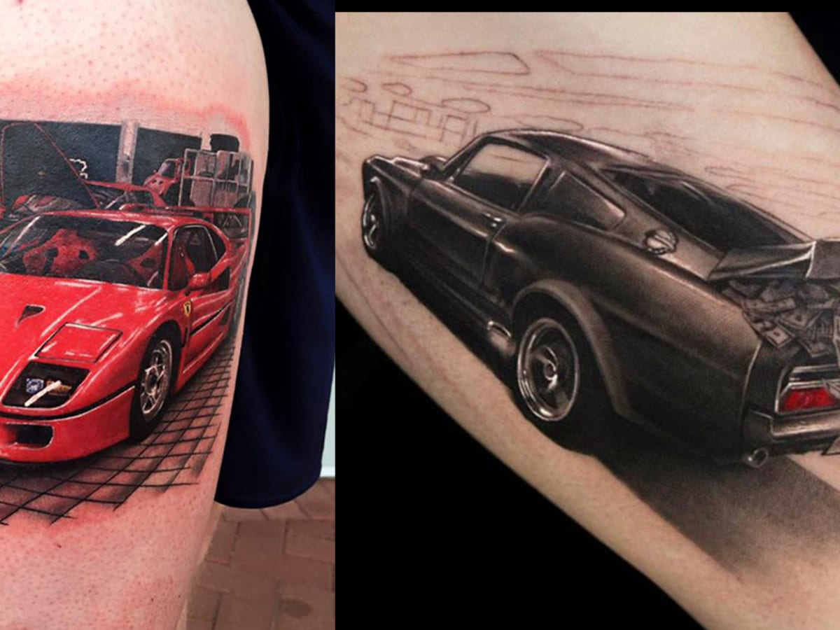 25 Fast And Furious Tattoos Tattoo Ideas Artists And Models