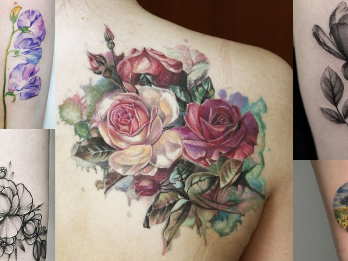 20 Botanical Tattoo Artists You Need To Follow For Your Next Spring Tattoo Tattoo Ideas Artists And Models