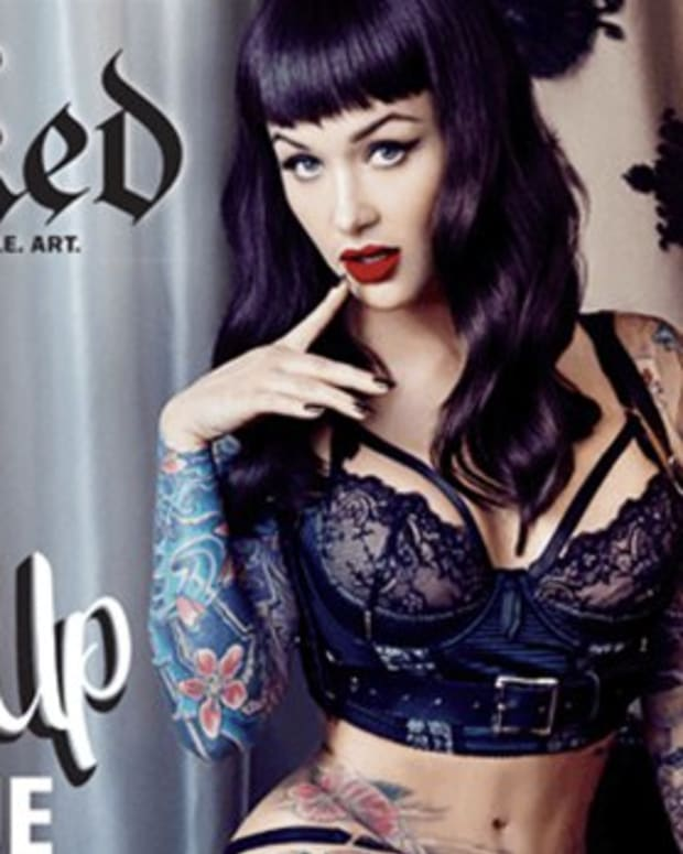 inked cover girl feat