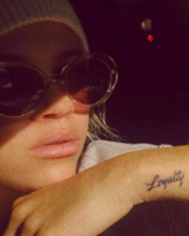 sofia richie loyalty tattoo
