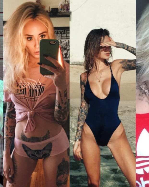 hottest tattooed instagrammers