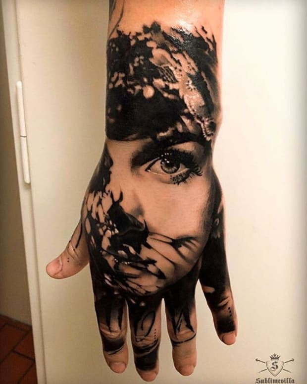 hand tattoo - miguel-martins
