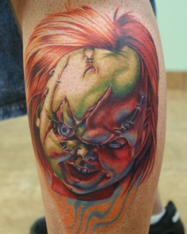 "Chucky from ""Child's Play."""
