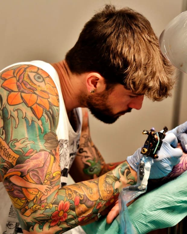 Tattoo artist, Alvaro Quesada. Photo: Courtesy of Alvaro Quesada.