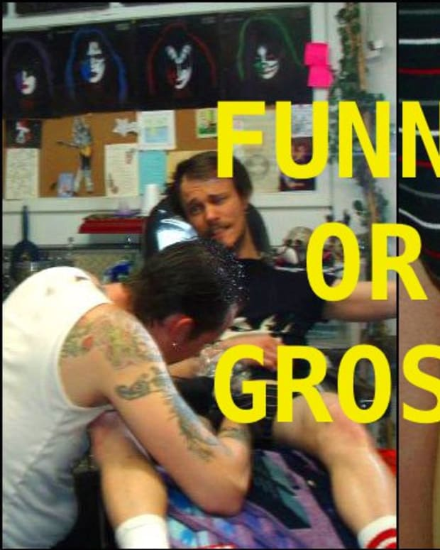 Funny or gross tattoos