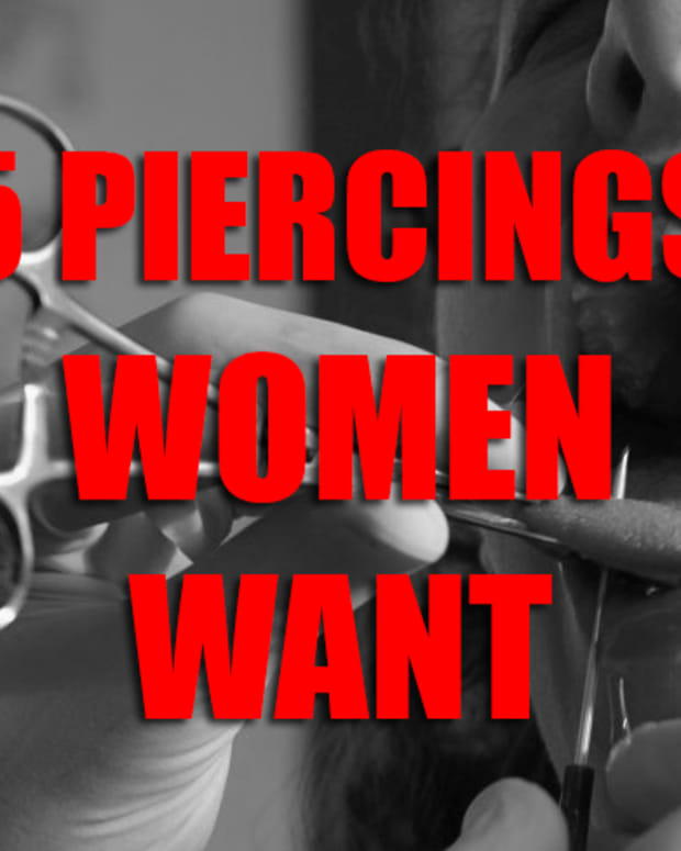 Piercings women want