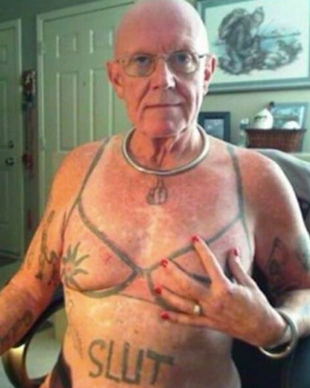 two weird and funny tattoos