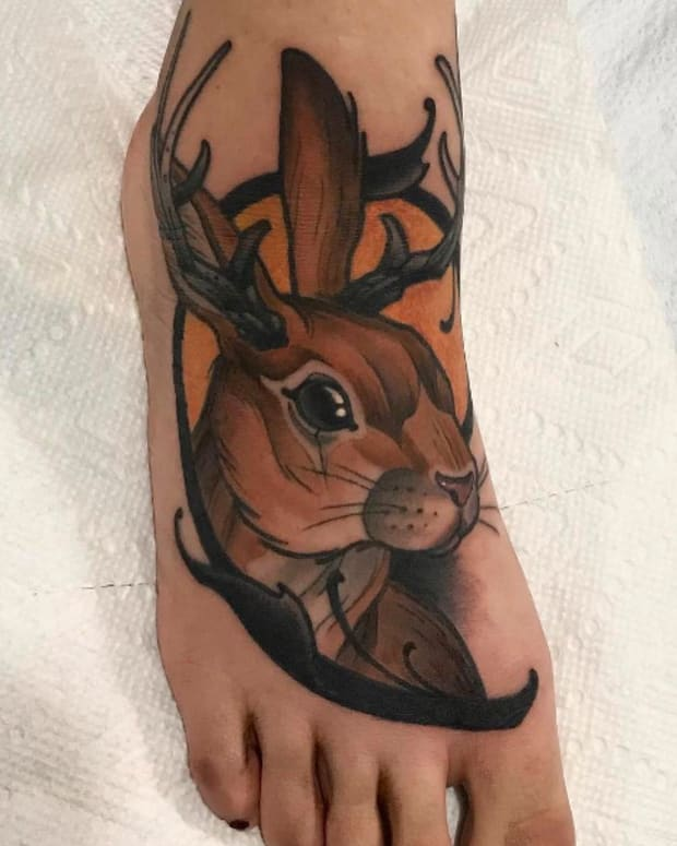 foot tattoo - primm_