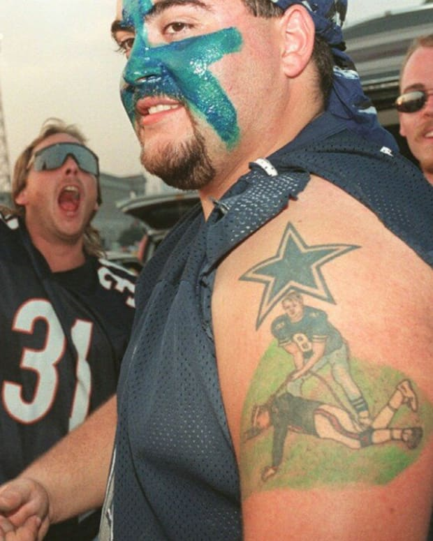 Bad Dallas Cowboys Tattoo