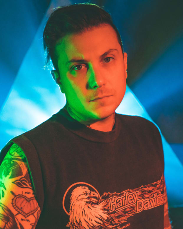 Frank Iero, Frank iero band, frank iero record, frank iero and the future violents, frank iero and the future violents barriers, FIATFV album, my chemical romance frank iero my chemical romance, Steve Albini, Evan Nestor, Matt Armstrong, Tucker Rule, Kayleigh Goldsworthy, Peter Roessler, tess adamakos, INKED, Inked Magazine, the avengers, the avengers infinity war