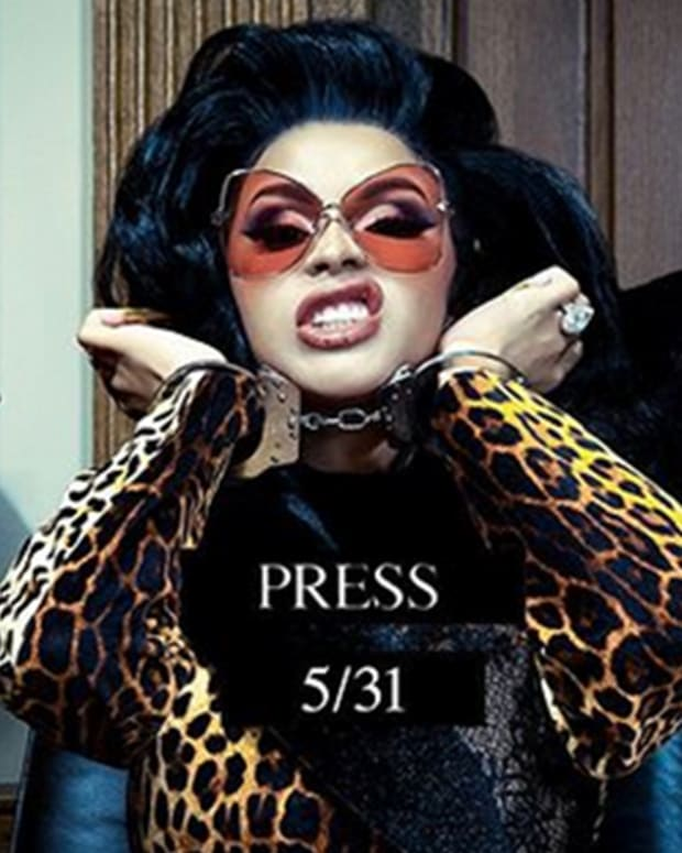 cardi b press fb